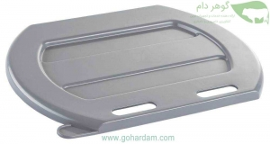 درب خاکستری سطلهای شیرخوری 8 لیتری کربل (KERBL 8lit feeding bucket lid)