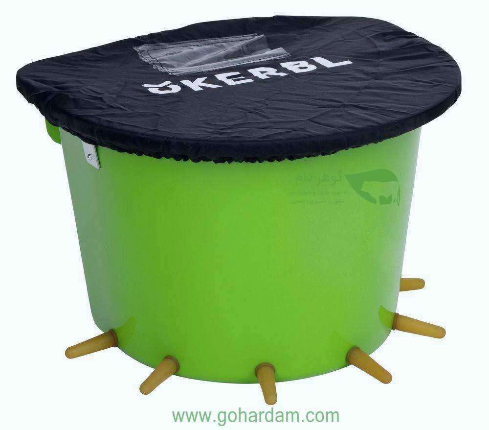 سطل شیرخوری بره و بز کربل 12 لیتری (KERBL Lamb Feeder Bucket)