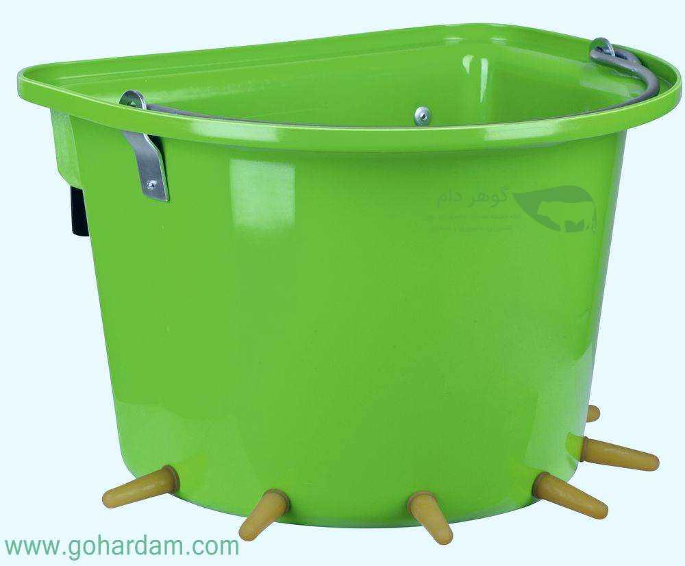 سطل شیرخوری بره و بز کربل (KERBL Lamb Feeder Bucket)