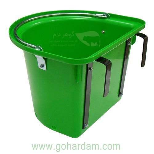 سطل شیردهی بزغاله 12 لیتری (12lt KERBL lamb feeder bucket)