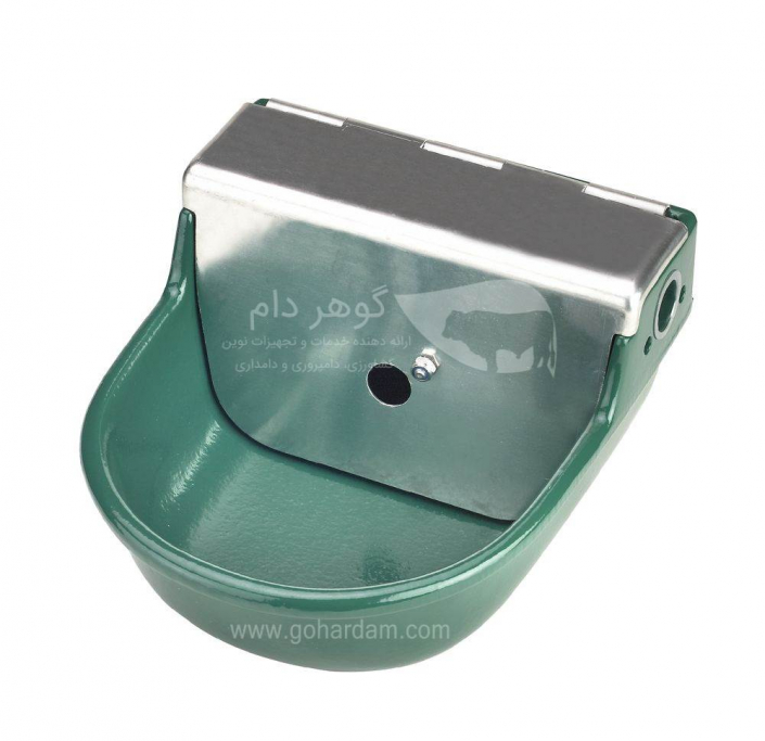 آبخوری فلزی شناوردار دام کربل (KERBL float bowl)