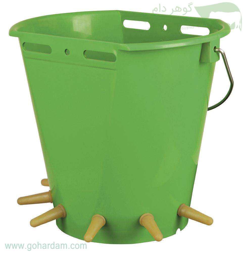 سطل شیردهی بزغاله کربل (KERBL Lamb Feeding Bucket 8Lt)
