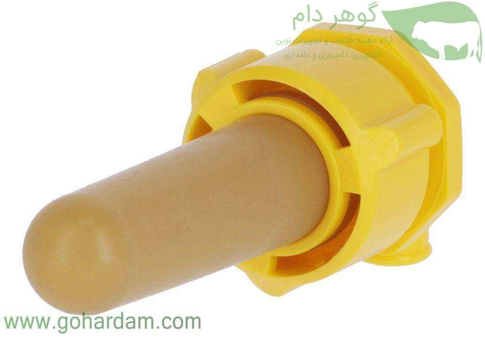 مکانیزم و پستانک سطل شیر گوساله کربل با مکانیزم بهداشتی (KERBL Calf Bucket with Hygienic Valve)